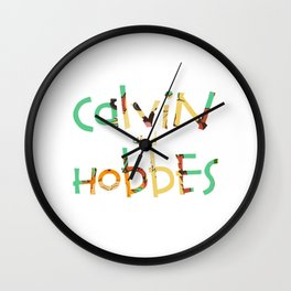 calvin and hobbes  forever Wall Clock
