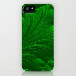 Renaissance Green iPhone Case