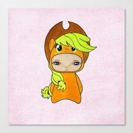 A Boy - Applejack Canvas Print