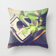 Time for thoughts and creativity Throw Pillow
