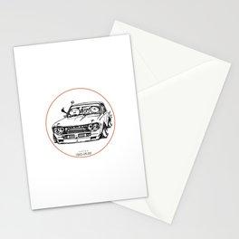 Crazy Car Art 0009 Stationery Cards