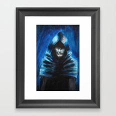 The Hooded One Framed Art Print
