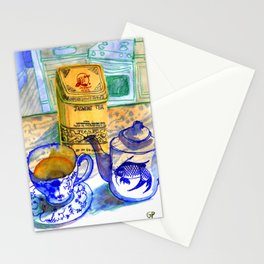 Jasmine Tea Stationery Cards