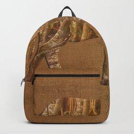 Rainforest Elephant - Tribal African Art Style Backpack