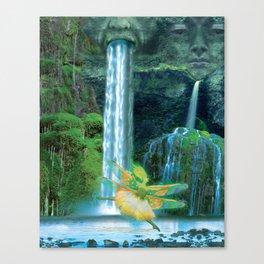 Water Sprite Ballet Canvas Print