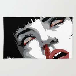There goes mrs. Mia Wallace Rug