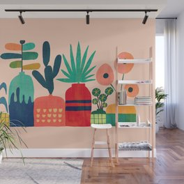 Plant mania Wall Mural