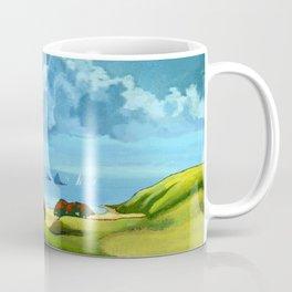 A Hot Day's Boating Coffee Mug