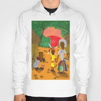 book cover Hoodies featuring Kilalu book cover by Vincent Poe