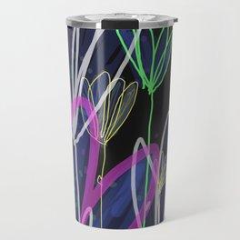 Night flowers Travel Mug