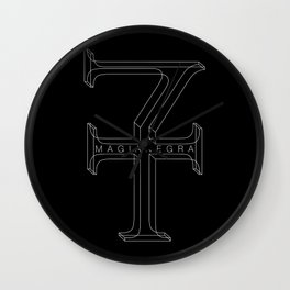 Magia Negra Wall Clock