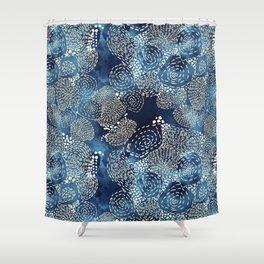 Sewing Thread Shower Curtain