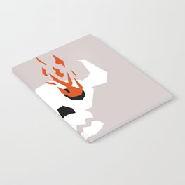 I see fire Notebook