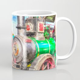 Traction Engine And Steam Lorry Art Coffee Mug