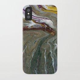 Fluid Acrylic XX - Original, acrylic, abstract painting iPhone Case