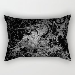 nashville map Rectangular Pillow