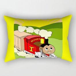 Bonifacio The Train Rectangular Pillow
