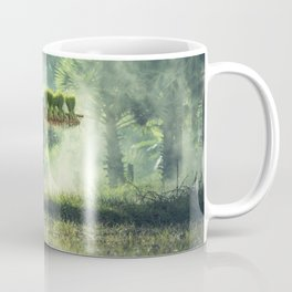 Indonesian Farmer Planting Rice Crop Coffee Mug