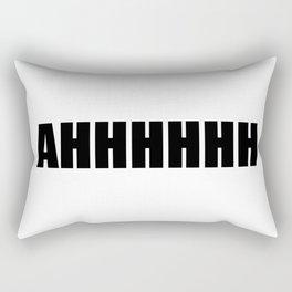 ahhhhh Rectangular Pillow