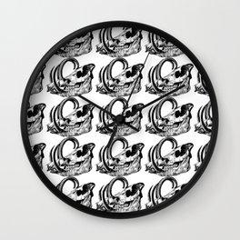 Babirusa Skull Wall Clock
