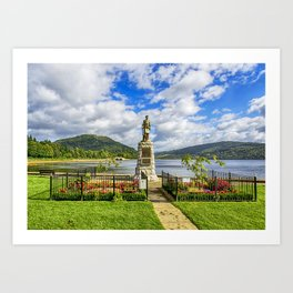 Inveraray War Memorial Art Print