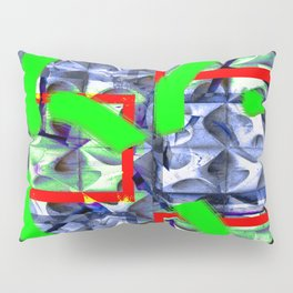 Collage with hollow effect Pillow Sham