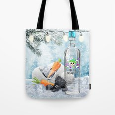 Holiday Cheer! (Melted Snowman Spirits) Tote Bag