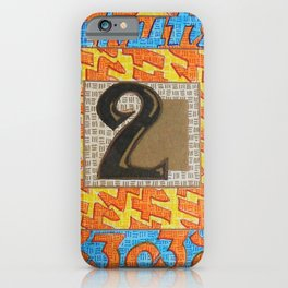 Alpha-Numero: Two iPhone Case