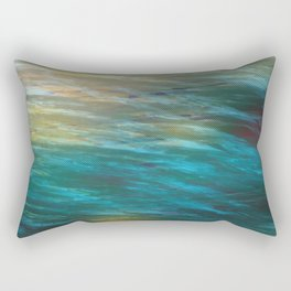 Turbulance in Breaking Light Rectangular Pillow