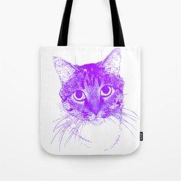 Jazz, drawing, purple Tote Bag