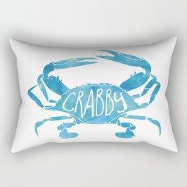 Crabby! Rectangular Pillow