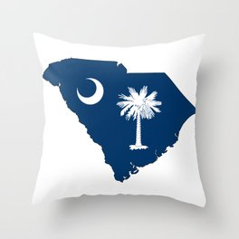 South Carolina Throw Pillow