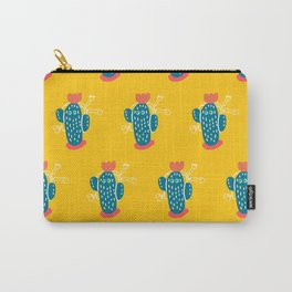 Walking Cactus Carry-All Pouch