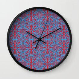 Incubator_pattern Wall Clock