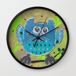 One for the owl Wall Clock