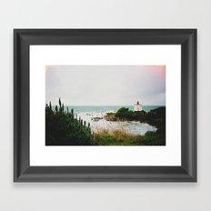 New Zealand: Bluff Lighthouse Framed Art Print