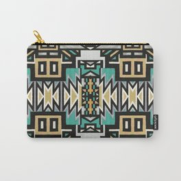 Ethnic african geometric pattern Carry-All Pouch