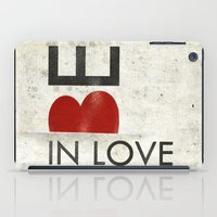 onesie iPad Cases featuring BE IN LOVE by Lulla