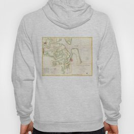 Vintage Map of The St Marys River - FL/GA (1857) Hoody