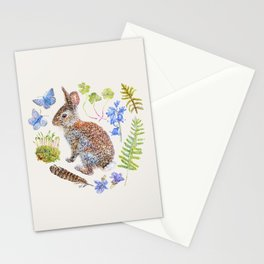 Spring Wildlife - Neutral Stationery Cards
