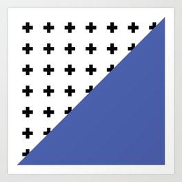 Memphis pattern 72 Art Print