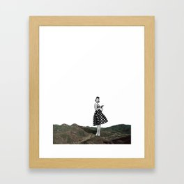 Power i am Framed Art Print