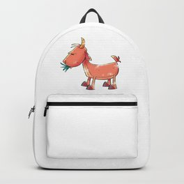Goat Funny Backpack