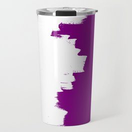 Purple imbalance Travel Mug