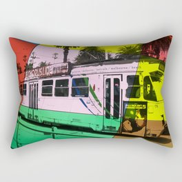 Melbourne Tram Rectangular Pillow