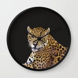 Jaguar At Rest Wall Clock