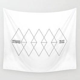 Accept/Denied Wall Tapestry