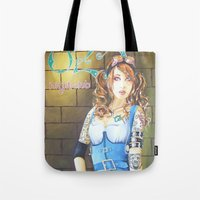 dorothy Tote Bags featuring Dorothy by marmaseo