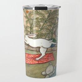 Yoga Bunny Travel Mug