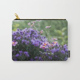 Asters and Japanese Anemones Carry-All Pouch